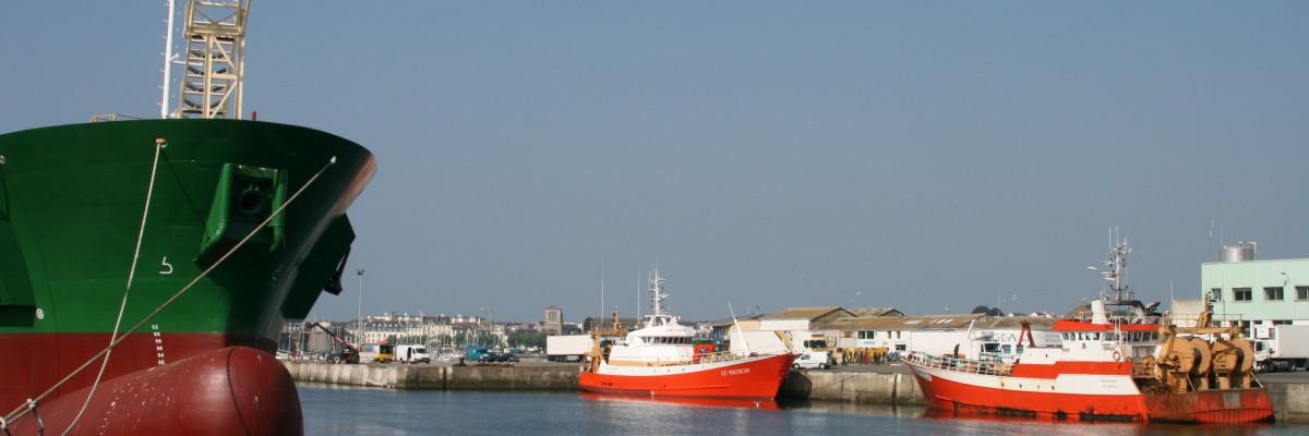 Concarneau port